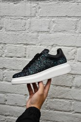 Oversized Sneakers Galaxy Green Alexander McQueen