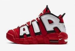 """Air More Uptempo """"Chicago Bulls"""" University Red/Black-White Nike"""