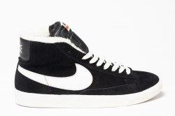 Кроссовки зимние! Blazer Winter Black White Nike