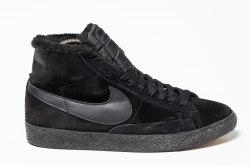Кроссовки зимние! Blazer Winter All Black Nike