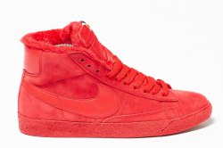 Кроссовки зимние! Blazer Winter All Red Nike