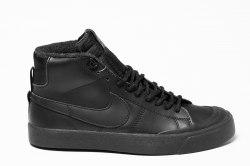 Кроссовки зимние! SB Winter All Black Nike