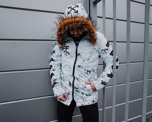 Зимняя Куртка Артикул Alli1 Black Island