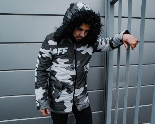 Зимняя Куртка Артикул Alli3 Black Island