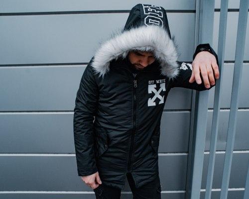 Зимняя Куртка Артикул Alli5 Black Island
