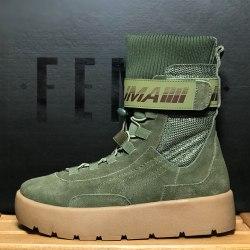 PUMA x Fenty Scuba Boot Olive Puma