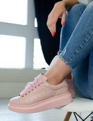 Oversized Sneakers All Pink Alexander McQueen