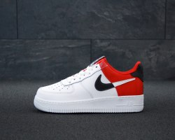 NBA x Air Force 1 07 LV8 White Red Nike