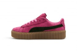 Suede Creeper x Rihanna Crimson/Black Puma