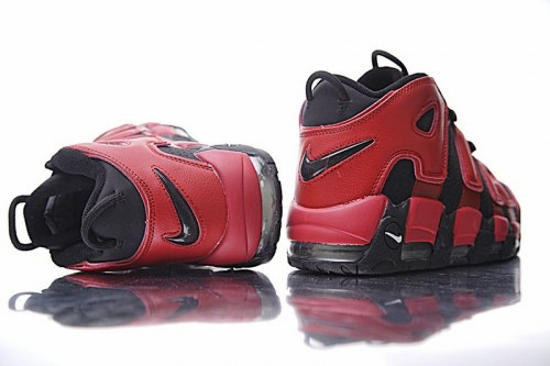 AIR MORE UPTEMPO QS Black Red Nike