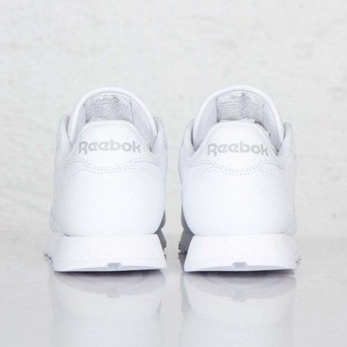 Classic White Reebok