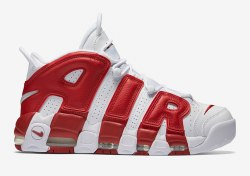 AIR MORE UPTEMPO White/Red Nike