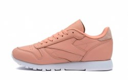 Classic Leather Pink Salmon Reebok