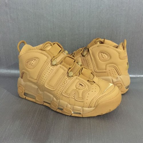 AIR MORE UPTEMPO PRM Wheat Flax-Gum Light Brown Nike