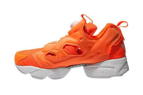 Insta Pump Fury OG Solar Orange/White Reebok