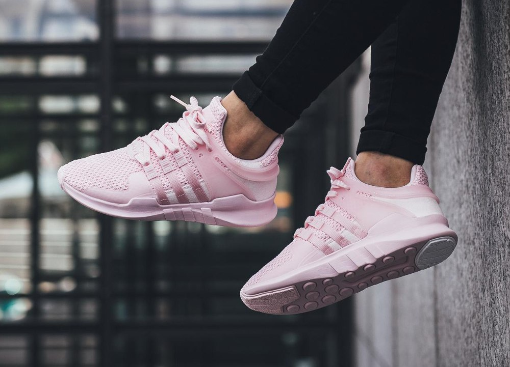 finest selection 794ad 875ff best price adidas clear rosa eqt fa4c8 46925