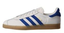 Gazelle White/Blue Adidas