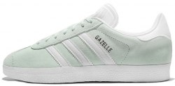 Gazelle Linen Green/White Adidas