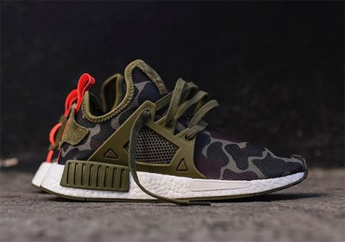 NMD XR1 Olive Green Duck Camo Adidas