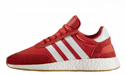Iniki Runner Boost Red Adidas