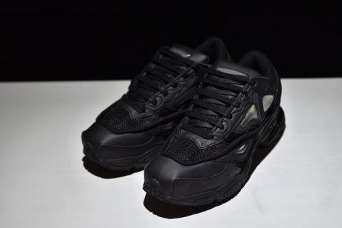 "Raf Simons x Adidas Consortium Ozweego 2 ""Monochrome Black"" Adidas"