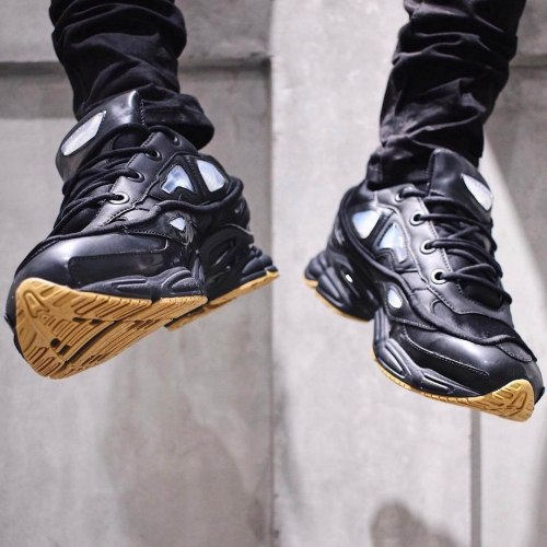 Adidas x Raf Simons Ozweego 2 Bunny Core Black Women Adidas