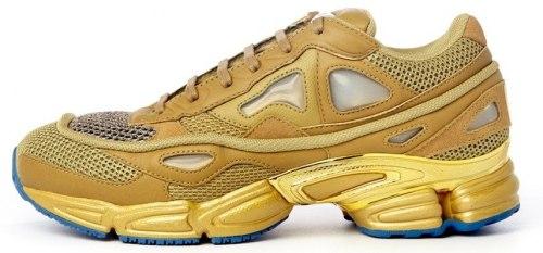"""Adidas x Raf Simons Ozweego 2 """"Khaki Gold"""" Women Adidas"""