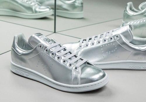 Raf Simons x Adidas Stan Smith Metallic Silver Adidas