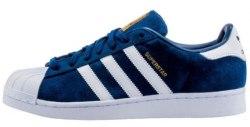 Superstar Suede Navy/White Adidas