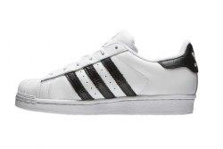 Superstar White-Black Adidas