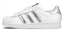 Superstar White Silver Adidas