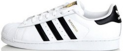Superstar ll White/Black/Gold Women Adidas