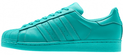 Superstar Supercolor Mint Adidas