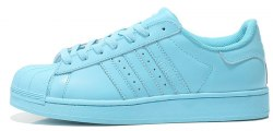 Superstar Light Blue Adidas