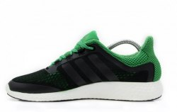 Pure Boost Green/Black Adidas