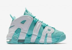 Air More Uptempo Island Green Release Date Nike