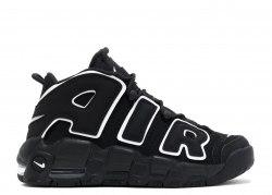 AIR MORE UPTEMPO Black/White Women Nike