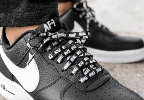 """Air Force 1 '07 LV8 NBA Pack """"Black"""" Nike"""