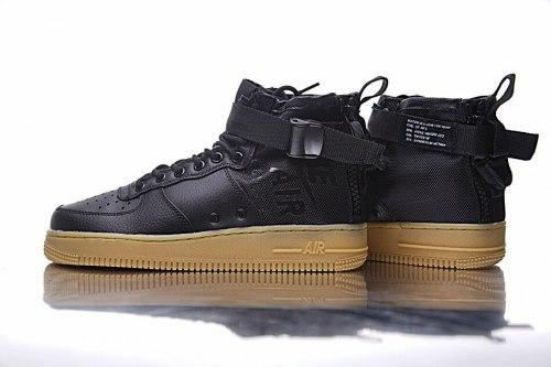 SF Air Force 1 Utility Mid Black/Gum Nike
