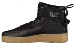 SF Air Force 1 Utility Mid Black/Gum Nike