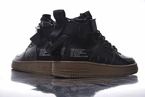 SF Air Force 1 Utility Mid Black/Grey Nike