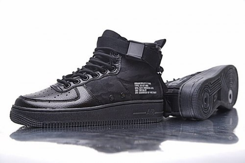 SF Air Force 1 Utility Mid All Black Nike
