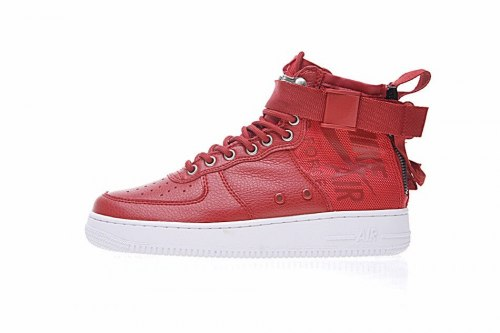 SF Air Force 1 Utility Mid Red/White Nike