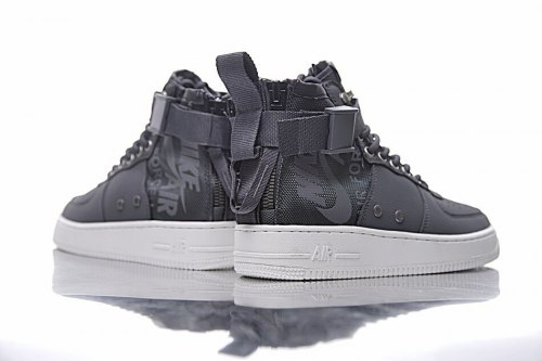 SF Air Force 1 Utility Mid Grey/White Nike