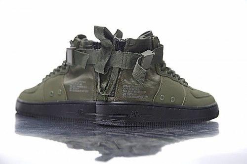 SF Air Force 1 Utility Mid Haki/Black Nike