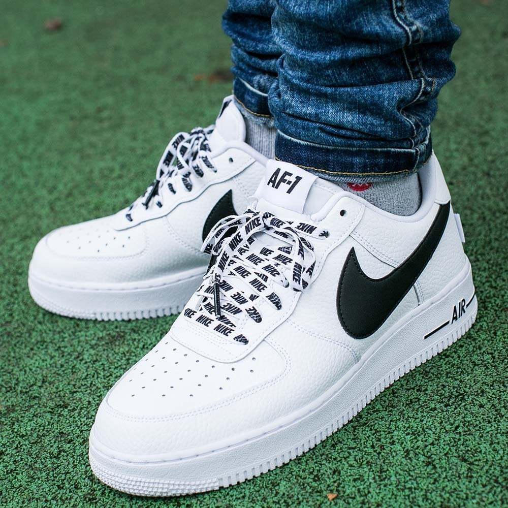 5fc4aa47 ᐉ Купить кроссовки Air Force 1 Low NBA White/Black Nike – с ...