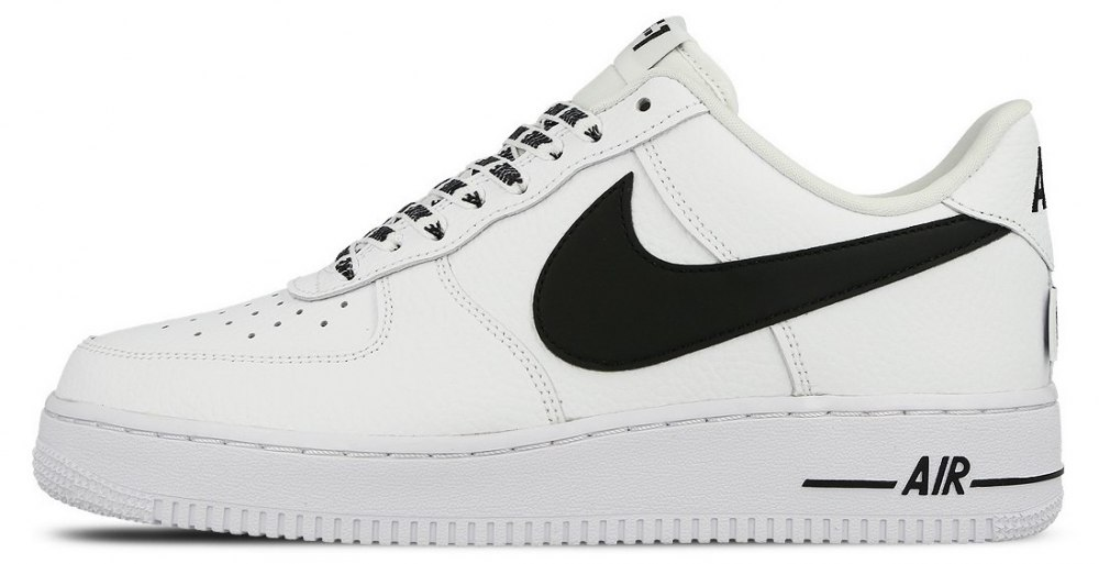 e148105e ᐉ Купить кроссовки Air Force 1 Low NBA White/Black Nike – с ...