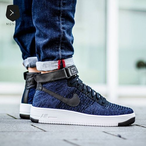 Air Force Ultra Flyknit High Game Royal Nike