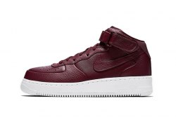 Air Force 1 High PRM Maroon Nike