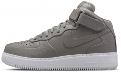 Air Force 1 Mid Light Charcoal/White Nike